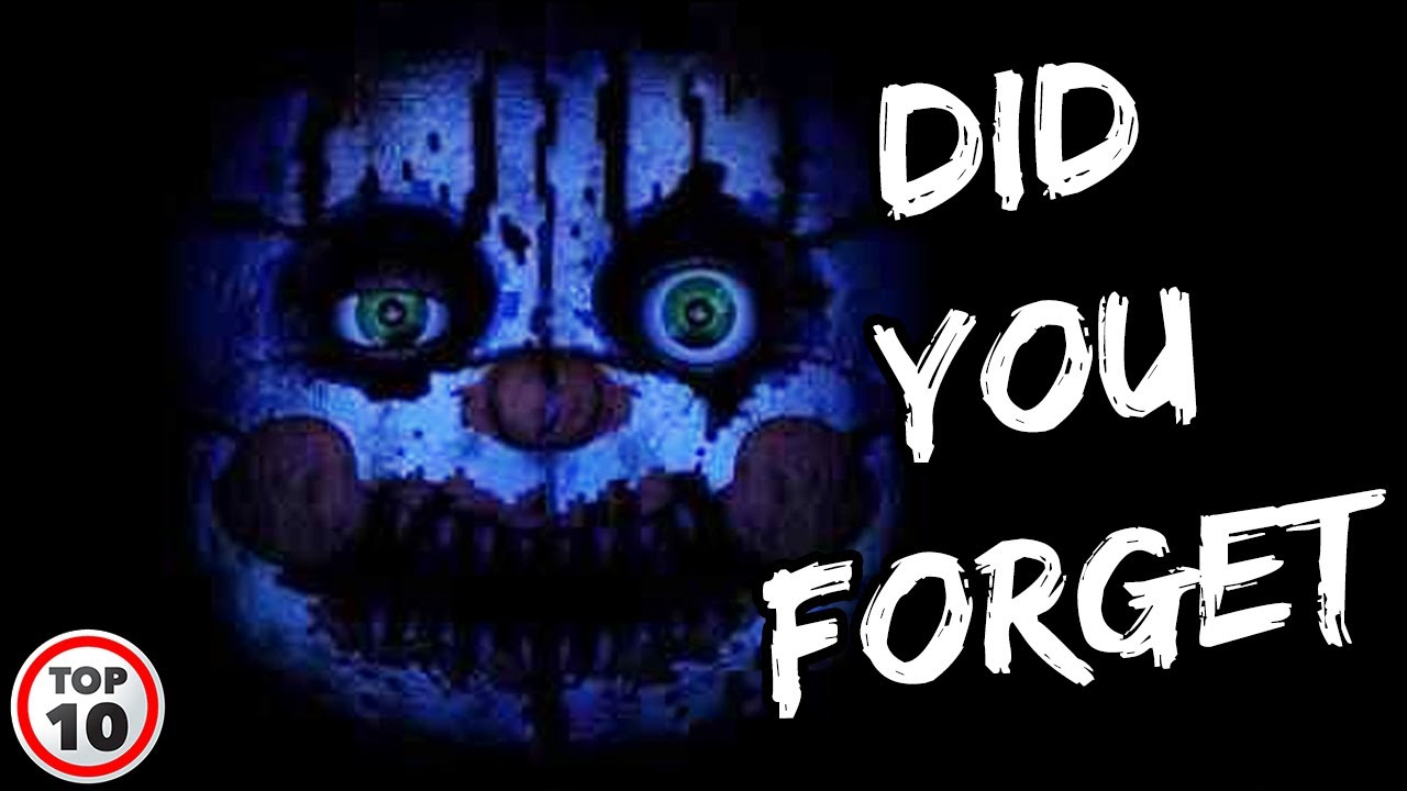 Scary Five Nights At Freddy's Memes Top 10 Scary Fnaf Memes Youtube top 10 scary fnaf memes