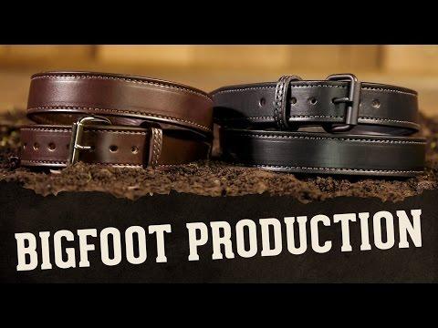 American Made Gun Belts – Bigfoot Gun Belts