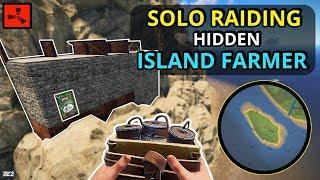 RAIDING A HIDDEN Island Farmer BASE For A Nice PROFIT!! - RUST SOLO (3/3)
