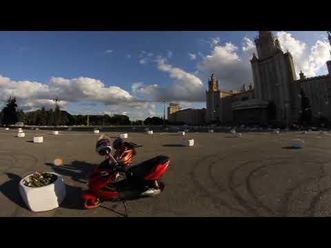 FZM   Stunt on Vorobyovy Gory   МГУ   (vlprd.)