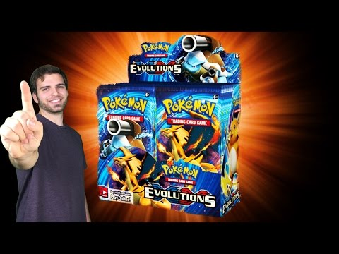 BEST Pokemon Evolutions Booster Box Opening EVER! Classic Base Set Cards!!? OH BABY!!