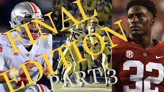 2021 WAY-Too-Early Mock Draft Part 3 (Picks 21-32)