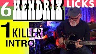 6 Hendrix Licks | I Killer Intro | Power To Love | Guitar Lesson | Tim Pierce | Lean To Play