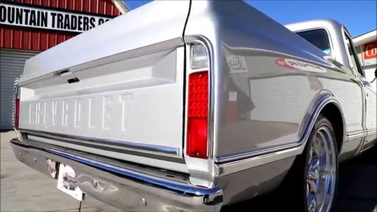 1968 Chevy C10 Silver Youtube Pick Up