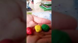Видеоурок #1 как сделать светофор из пластилина