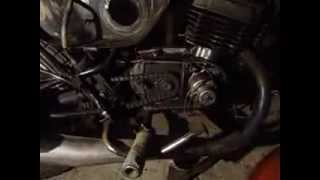 Восстановление мотоцикла Минск (1 часть)