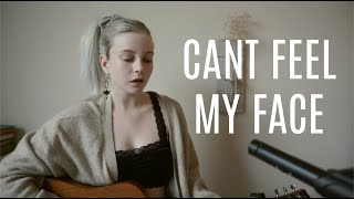 Can T Feel My Face The Weeknd Acoustic Cover By Louis Vlahakis - مهرجانات