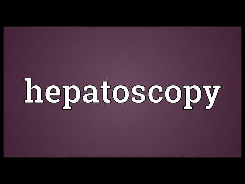 Header of hepatoscopy