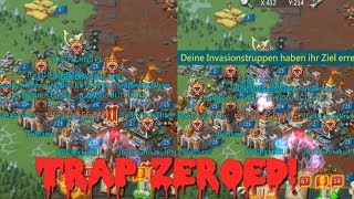 Lords Mobile KvK Trap zeroed! (GB attacks with my guild)