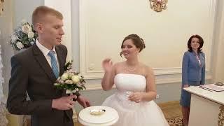 Свадьба в СПБ в Загсе Кировского района
