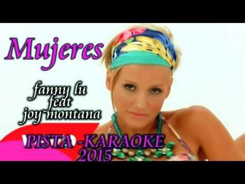 Fanny Lu – Mujeres KARAOKE  ft. Joey Montana