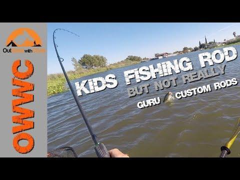 Fishing With A Kids Rod?  Not Really - Guru Custom Rods