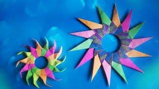 Секрет Красивых Новогодних Звезд Из Бумаги Своими Руками. Наработки, Подсказки, Идеи