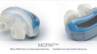 MiCPAP™ Micro CPAP Anti-snoring Device for Sleep Apnea