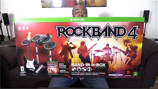 ROCK BAND 4 UNBOXING & I PLAY/SING! [Xbox One]