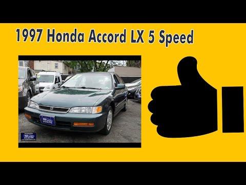 1997 Honda Accord LX 5 Speed