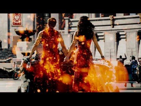 Ролик о съемках Голодные игры: И вспыхнет пламя в IMAX формате