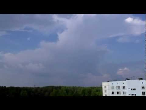 Weather and thunderstorm time lapse, Riga, Latvia | 18 May 2010