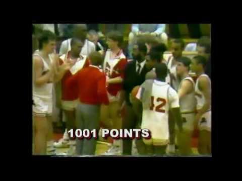 12 A.K.A. Michael Adams Scoring 1000 Pts- WILLIAMSPORT PA 1988