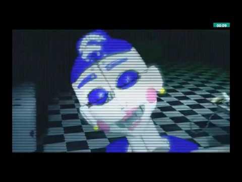 Фнаф 5 анимация Скример Балоры - YouTube