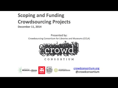 Scoping Funding Crowdsourcing Projects