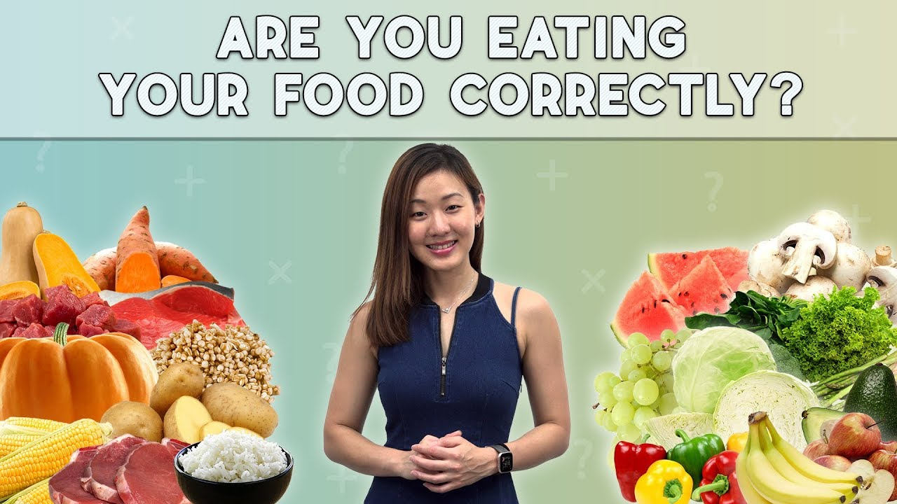 Are You Eating Correctly? | Lose Weight with Food Combining (5 Principles) | Joanna Soh