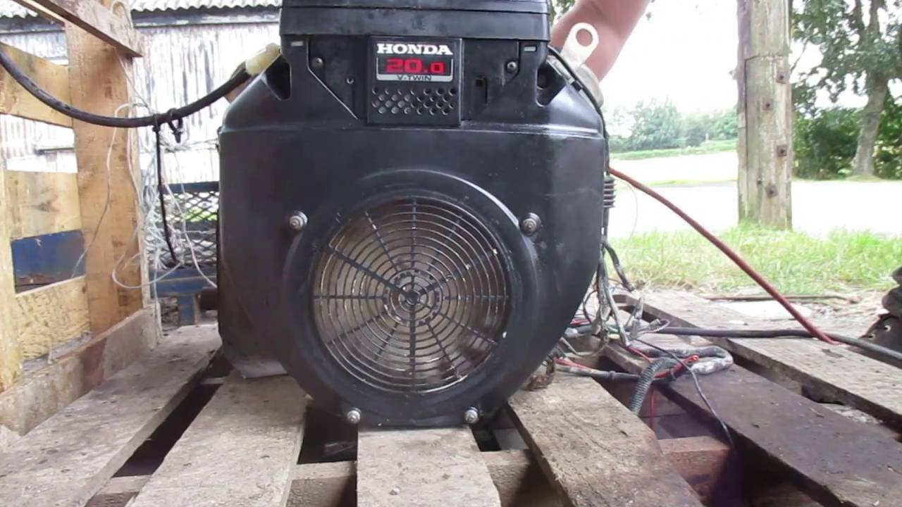 20 HP HONDA V TWIN ENGINE GX620