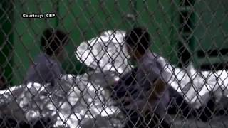 RAW VIDEO: Hundreds of children wait in Border Patrol facility in Texas | ABC7