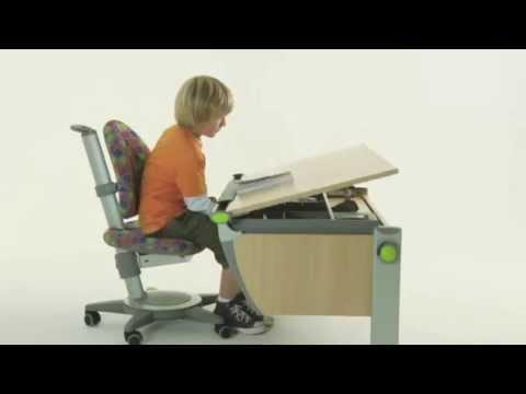 moll booster ergonomic study table for children youtube
