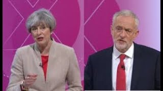 Jeremy Corbyn vs Theresa May  Grenfell Tower Fire