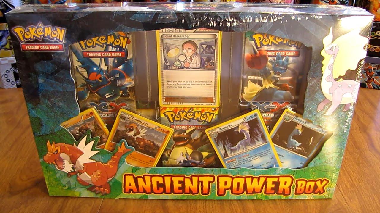 Pokemon Tcg Games Ancient Power Box Hensel Com Tr