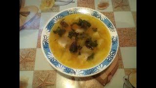 Суп с клёцками. Вкусный и простой рецепт. #суфикс
