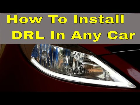 How To Install Day Time Running Light