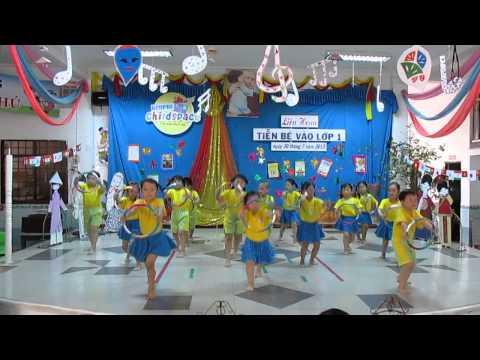 KimPhu Childspace: Thể dục nhịp điệu- Nắng sớm