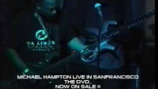 MICHAEL HAMPTON:LIVE IN SAN FRANCISCO DVD (Original)
