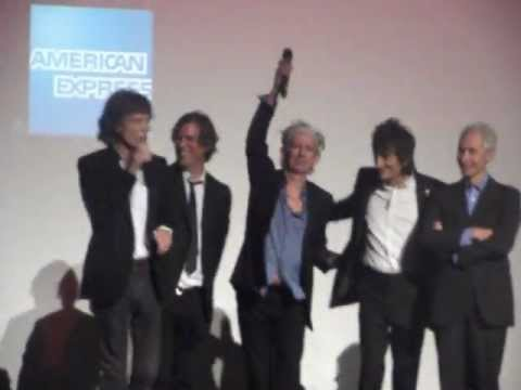 The Rolling Stones - Crossfire Hurricane premiere - London Film Festival