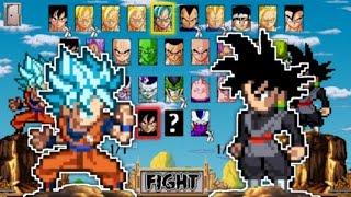 Goku SsjBlue Vs Goku Black - Z Champions