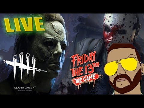 🔴🔪Dead by Daylight | Friday the 13th: The Game(Sweet Friday night!) LETS GO Interactive streamer!