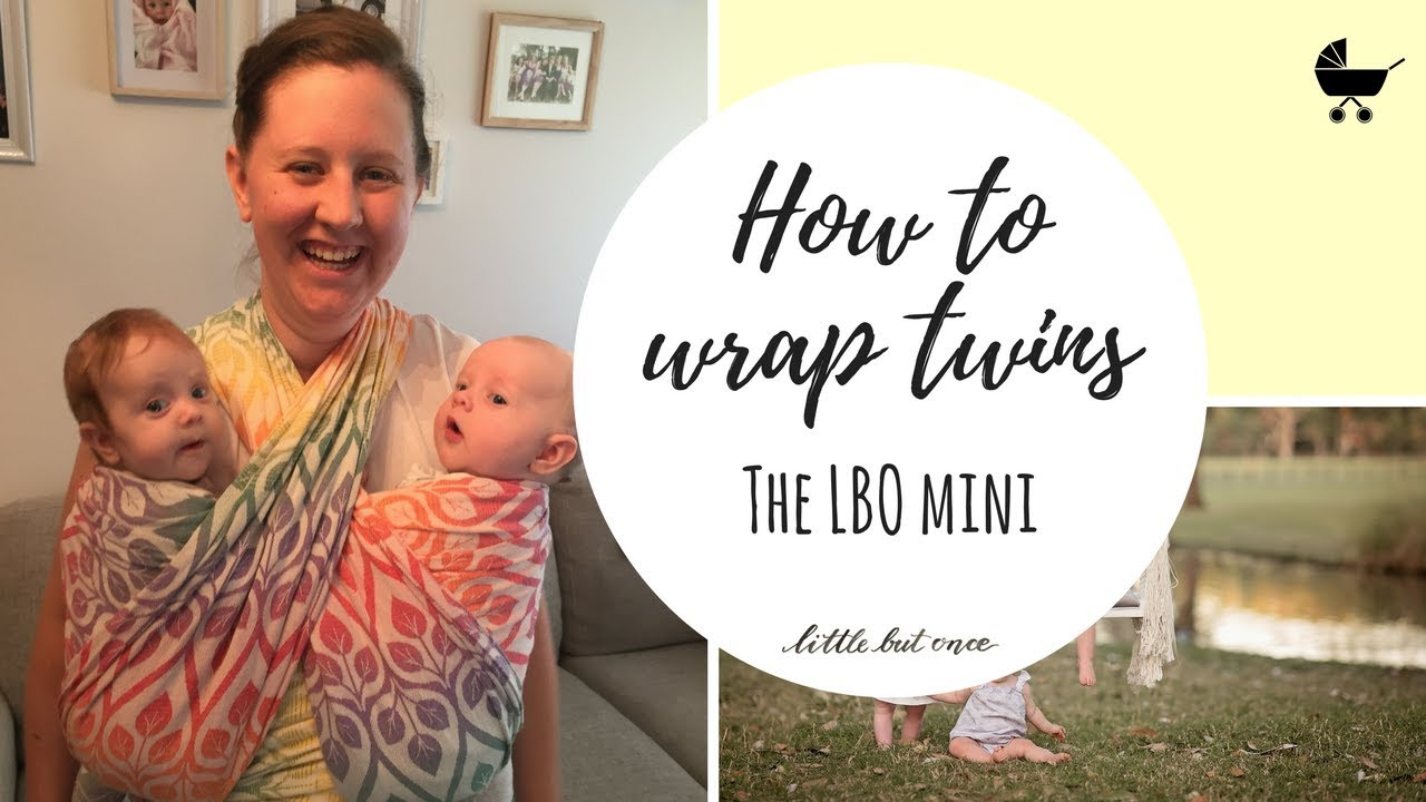 Best Way To Wrap Twins Lbo Mini Front Wrap Cross Carry With Folds