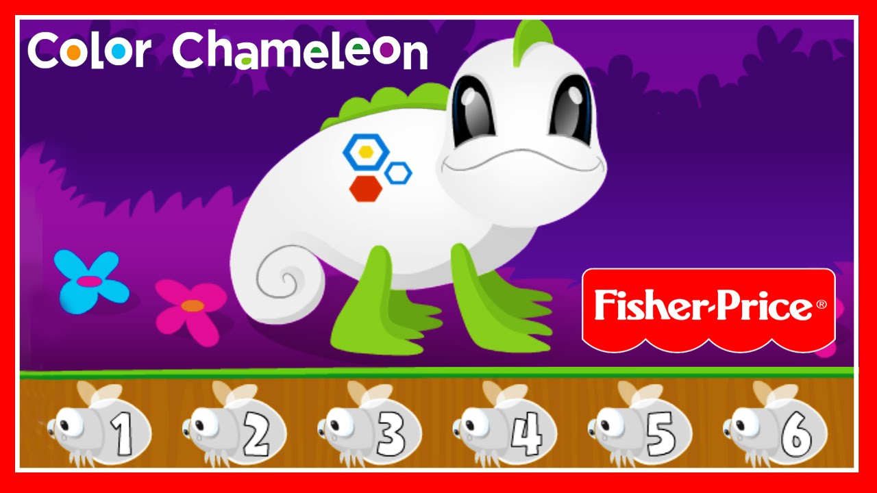 Fisher Price: Think & Learn Chameleon - Learn Colors, Number & Counting For Children - YouTube