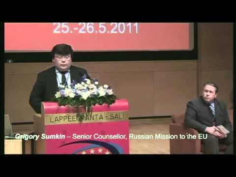 Grigory Sumkin spoke at the 2nd EU-Russia Innovation Forum