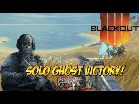Call of Duty: Blackout! Solo Ghost Victory! - YoVideogames
