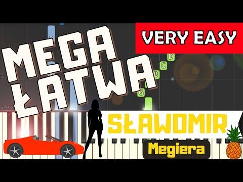 🎹 Megiera (Sławomir) - Piano Tutorial (MEGA ŁATWA wersja) 🎹