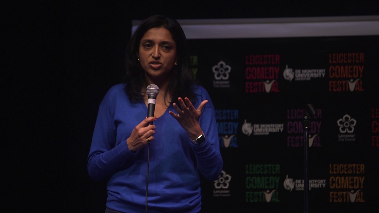 Marketing Exhibition Stand Up Comedy : Im sindhu vee and im a stand up comedian.