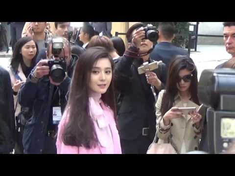 BINGBING @ Paris 2 october 2016 Fashion Week  Valentino