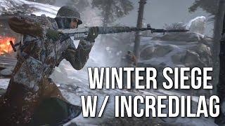Winter Siege w/ Incredilag (Call of Duty: WW2 Gameplay Stream)