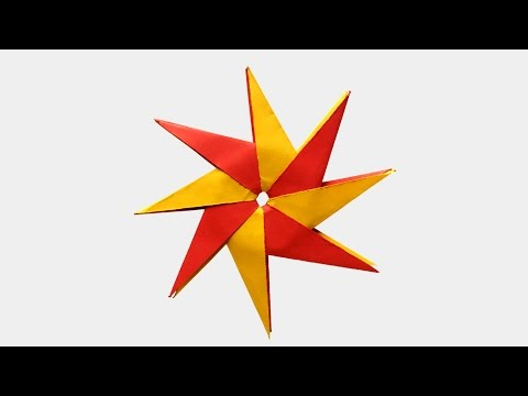 How To Make An Origami Star | Simple Origami