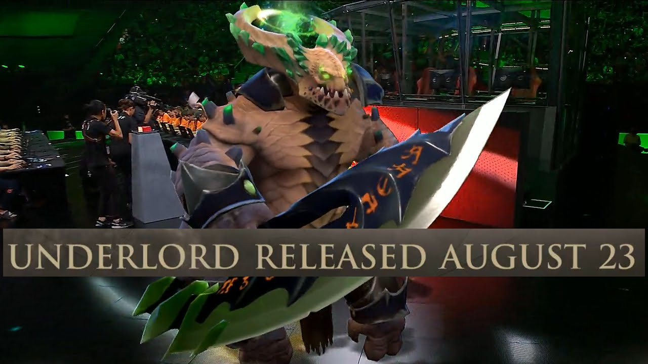 dota 2 pit lord underlord reveal all star 2016 1080p 60fps