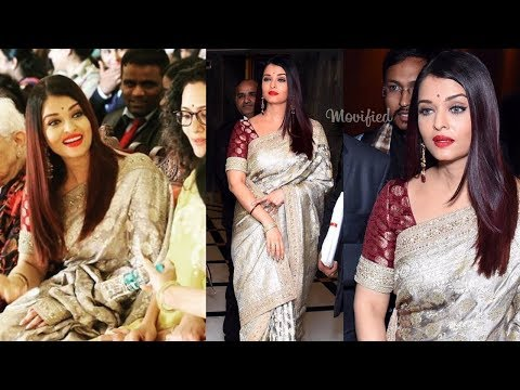 Aishwarya Rai Bachchan looking lovely in Women Achievers awards 2018 ❤