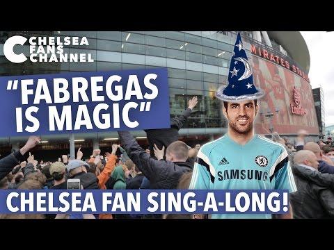 """""""FABREGAS IS MAGIC"""" SONG - Chelsea Fan Sing-A-Long - Chelsea Fans Channel"""